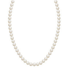 5mm Cultured Akoya Pearl Necklace (18 in.)