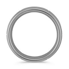 Max-T Engraved Titanium Comfort Fit Ring (8mm)