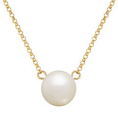 9mm Cultured Freshwater Pearl Necklace (17 in.)