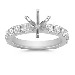 Round Diamond Engagment Ring
