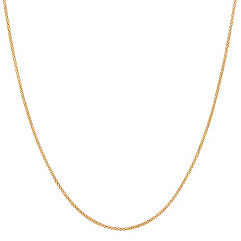 14k Yellow Gold Popcorn Chain (24 in.)