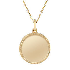 14k Yellow Gold Capri Necklace (18 in.)