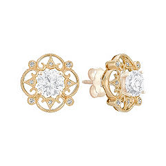 Vintage Diamond Earring Jackets