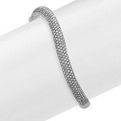 Diamond Bangle Bracelet (7 in.)