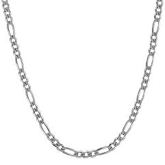 Sterling Silver Figaro Necklace (24 in.)