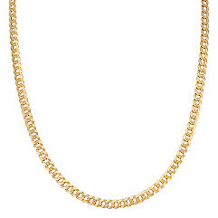 Curb Necklace in 14k Yellow Gold (24 in.)