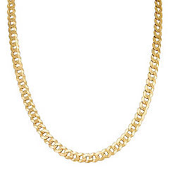 14k Yellow Gold Curb Necklace (24 in.)