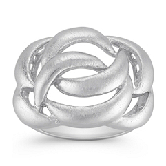 Contemporary Ring in Sterling Silver