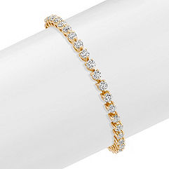 Round Diamond Tennis Bracelet (7 in.)