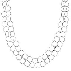 Sterling Silver Necklace (47 in.)