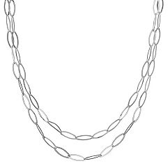 Sterling Silver Link Necklace (47)