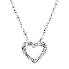 Heart Diamond Pendant (18 in.)