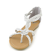 a1d5619fdd14 Shiekh Touch-S silver flat gladiator strappy sandal. PreviousNext