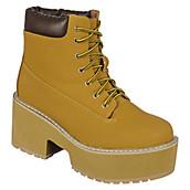 Women's Platform Lace-Up Boot JL 5002-1