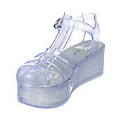 d233ee1987cf Shiekh Women s Disco-01 Platform Jelly Sandal. PreviousNext
