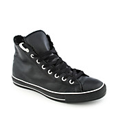 Mens All Star Leather Hi