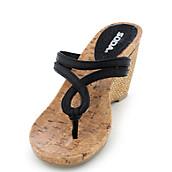 d8f64fecc2993d Soda Salsa-H womens thong high heel espadrille sandal. PreviousNext