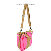 Neon Canvas Handbag