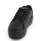 9a776125bc85 Cute to the Core Blyke Low Women s Black Casual Platform Sneakers ...