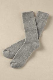 Women's Cashmere Socks - HEATHER GREY