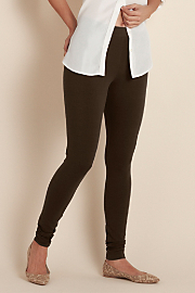 Women's Have to Have Legging - DARK BROWN