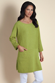 Petite Paris Boatneck - Green