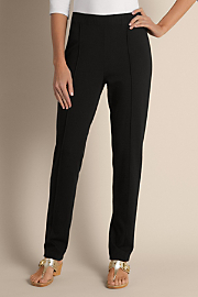 Women's Skinny Stretch Pant - BLACK