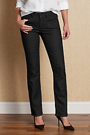 Not Your Daughter's Jeans Women's Marilyn (Straight Leg) Jean - BLACK