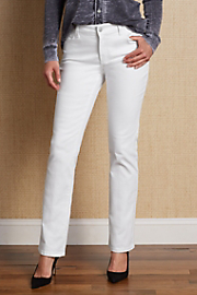 Not Your Daughter's Jeans Women's Marilyn (Straight Leg) Jean - WHITE