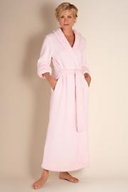 Women's Classic Chenille Robe - BLUSH PINK
