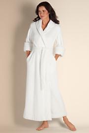 Women's Classic Chenille Robe - IVORY