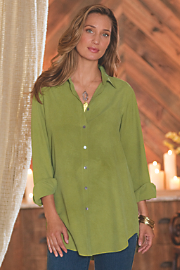 Vintage Silk Big Shirt
