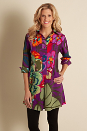 Women's Tropical Tunic