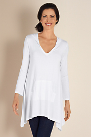 Women's Go To Tunic - WHITE