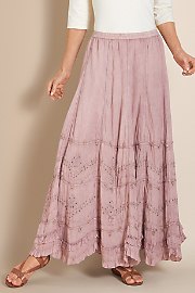 Women's Suzette Skirt - PALE MAUVE