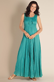 Talls Delphine Dress - AQUA BAY