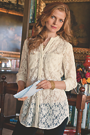 Milan Lace Shirt