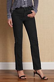 Women's Classic Jeans - BLACK