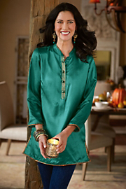Essential Silk Tunic
