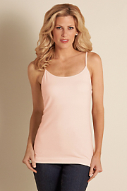 Women's Shelf Bra Cami - BLUSHING PINK