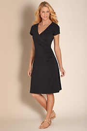 Women's Shapely Anywhere Dress - BLACK