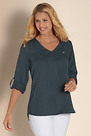 Women's Tencel Tunic I - GRAPHITE