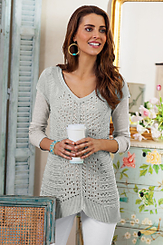 Camille Crochet Sweater
