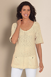 Women's St. Barts Sweater - NATURAL