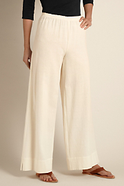 Women's Beachy Gauze Pant - NATURAL
