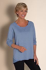 Women's Mackenzie Top - CHAMBRAY