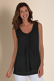 Women's Soft Layers Tank - BLACK