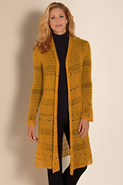 Women's Autumn Sweater  - HARVEST GOLD