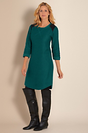 Women's Ojai Weekend Dress - DEEP TEAL
