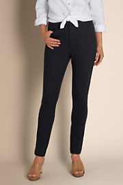 Women's In Control Slim Pant - BLACK